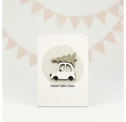 Авторские открытки BOE (Новый год)