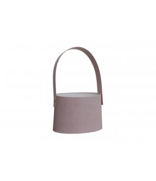 Сумочка для цветов 140*180*140 мм, розовая дизайн 30