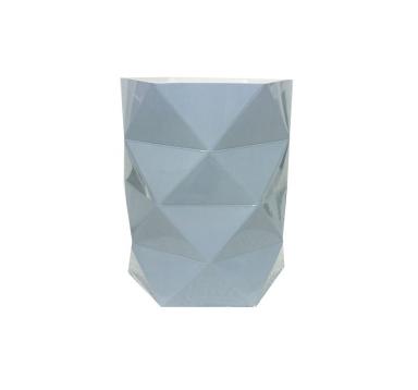 Коробка - ваза (ламинированная) серая