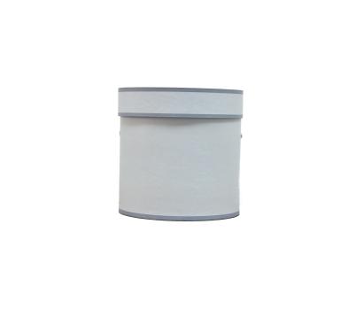 Коробка для цветов цилиндр, d-150, h-150, дизайн 47