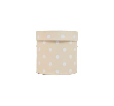 Коробка для цветов цилиндр, d-150, h-150, дизайн 76
