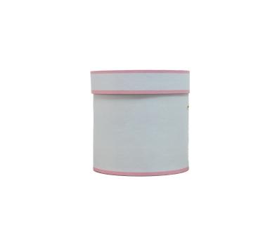 Коробка для цветов цилиндр, d-150, h-150, дизайн 48