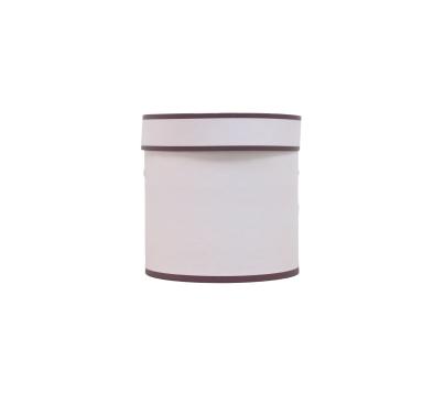 Коробка для цветов цилиндр, d-150, h-150, дизайн 60