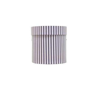 Коробка для цветов цилиндр, d-150, h-150, дизайн 79