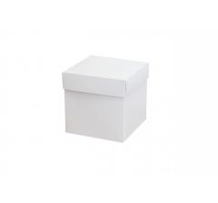 Коробка 110*110*110 мм,  бел ДП114