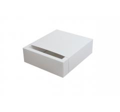Коробка 190*190*65 мм,  Дп110 бел №11