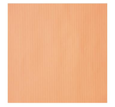 Бумага гофрированная 100 см/10 м, абрикос