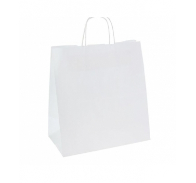 Пакет белый 29*15*25 см