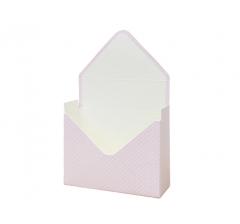 Коробка 170*140*60 мм, розовый в мелкий горошек