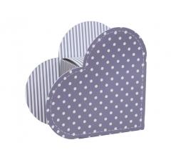 Коробка в виде сердца 20*22*9 см, дизайн 15