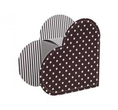 Коробка в виде сердца 20*22*9 см, дизайн 21