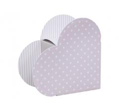 Коробка в виде сердца 20*22*9 см, дизайн 40