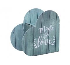 Коробка в виде сердца 20*22*9 см, дизайн 17