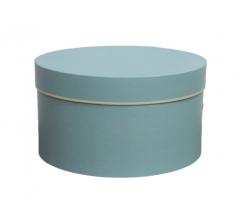 Коробка для цветов цилиндр, d-200, h-110, дизайн 8