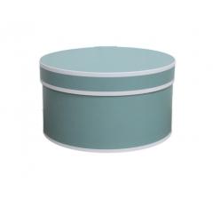 Коробка для цветов цилиндр, d-150, h-105 дизайн 11