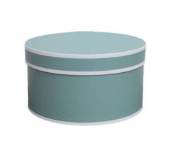 Коробка для цветов цилиндр, d-200, h-110, дизайн 11