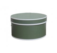 Коробка для цветов цилиндр, d-150, h-105 дизайн 12