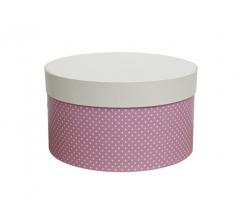 Коробка для цветов цилиндр, d-150, h-105 дизайн 14