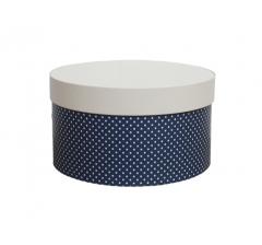 Коробка для цветов цилиндр, d-150, h-105 дизайн 15