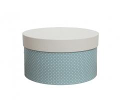 Коробка для цветов цилиндр, d-150, h-105 дизайн 16
