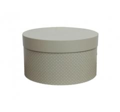 Коробка для цветов цилиндр, d-150, h-105 дизайн 17