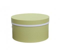 Коробка для цветов цилиндр, d-150, h-105 дизайн 18