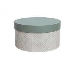 Коробка для цветов цилиндр, d-150, h-105 дизайн 19