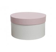 Коробка для цветов цилиндр, d-150, h-105 дизайн 20