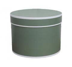 Коробка для цветов цилиндр d-200, h-150, дизайн 19