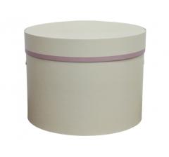 Коробка для цветов цилиндр d-200, h-150, дизайн 24