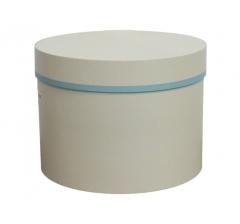 Коробка для цветов цилиндр d-200, h-150, дизайн 25