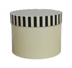 Коробка для цветов цилиндр d-200, h-150, дизайн 31