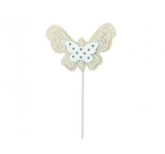 Бабочка на палочке, арт. DT16B ( мин. заказ 12 шт. )