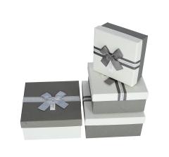 Комплект из 3 коробок подарочных l 19cm d 19cm h 9cm 8P9746