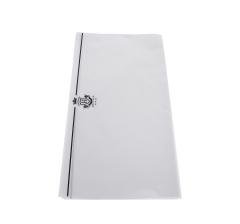 Бумага 60 х 60 см (20 шт.), белая с черной полосой