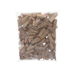 Комплект из деревянных прищепок натуральных 3,5 cm 8S36X12NA