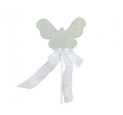 Бабочка на палочке, арт. DT85 ( мин. заказ 12 шт. )
