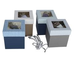 Коробка подарочная, микс h 13cm l 12cm 9P5338