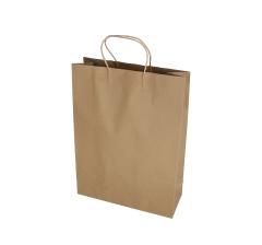 Пакет подарочный натуральный h 43cm l 32cm d 12cm  9T4931XL