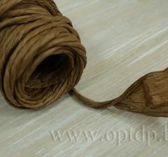 Шнур бумажный декоративный 10м. коричневый