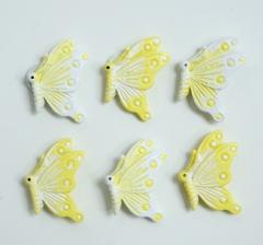 Комплект бабочек на липучке(9 шт.).