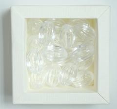 Бусины прозрачные , 1 пакетик ( 50 г. )