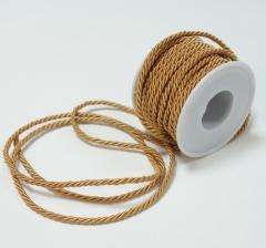 Шнур канатный 3 мм/ 10 м, карамельный