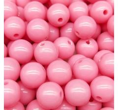 """Бусины """" Bubble Gum"""", 50 г., теплые розовые"""