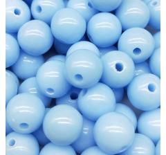 """Бусины """" Bubble Gum"""", 50 г., голубые"""