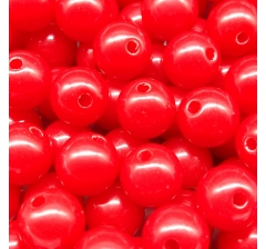 """Бусины """" Bubble Gum"""", 50 г., красные"""