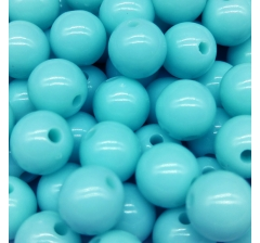 "Бусины "" Bubble Gum"", 50 г., бирюзовые"