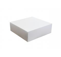 Коробка сборная 250*250*80 мм, белая