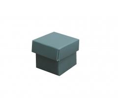 Коробка картонная сборная 35*35*35 зеленая