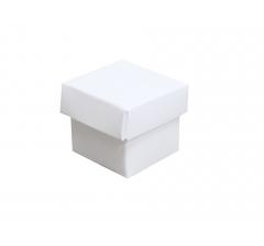 Коробка картонная сборная 35*35*35 белая
